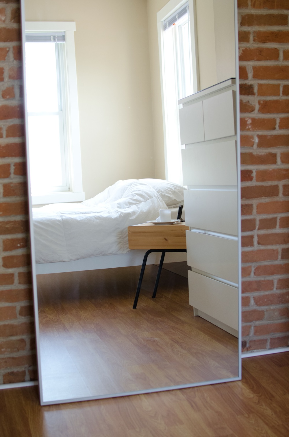 empty apartment inside.  Tour My Minimalist Apartment The Minimalists