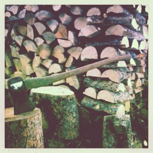 Chopping Wood, The Minimalists