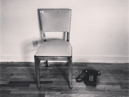 Chair and Phone, Photo by JFM