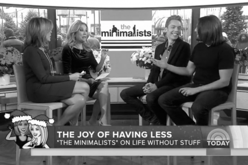 The Minimalists on the TODAY Show
