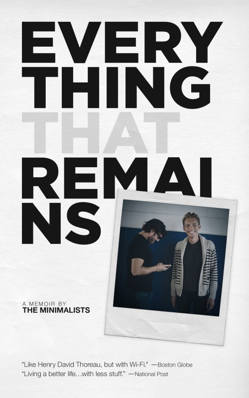 everything that remains a memoir by the minimalists pdf download