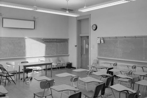 Minimalist Classroom Noise ~ Podcast question the minimalists