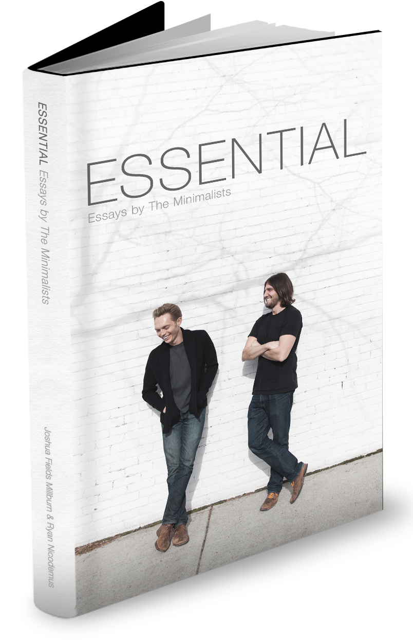 Essential essays by the minimalists the minimalists for Best books on minimalism