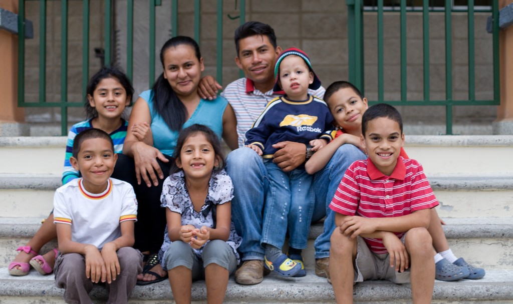 Orphan Family in Honduras